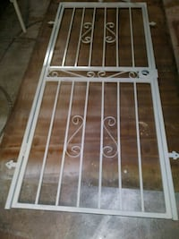 white steel gate Tampa, 33614