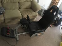 Gaming chair, g26 wheel with a brand new stick shift Richmond Hill