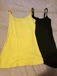 Yellow and Black Cami's.