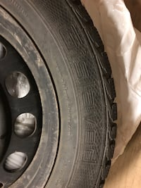 (4) Gislaved 205 55r16 Winter Tires