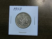 Canadian and foreign Coins For Sale Burlington