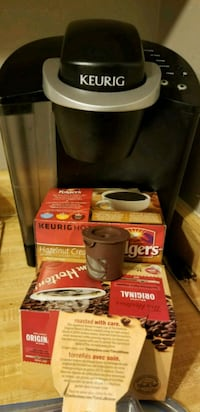 Keurig machine with k cups!  3148 km