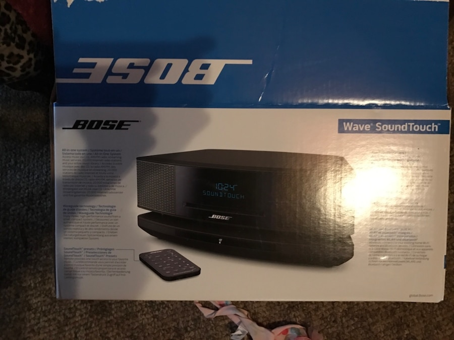 letgo bose soundtouch wave system with w in shannon al. Black Bedroom Furniture Sets. Home Design Ideas