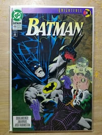 Batman 496 (9.6) NM+ (Knightfall pt 9)  Kettering, 20774