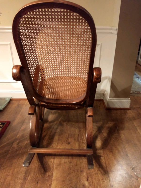 Bentwood Cane Back Rocking Chair 58feed0d-8ede-4fc7-bc4b-05ff28d117bc