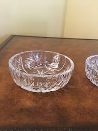 Crystal dishes and vase Coquitlam, V3K 3G3