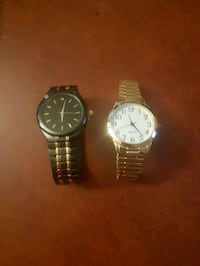 two round silver-colored analog watches Niagara Falls, L2H