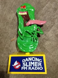 Working 1980s Ghostbusters dancing Slimer AM/FM radio Dover, 17315