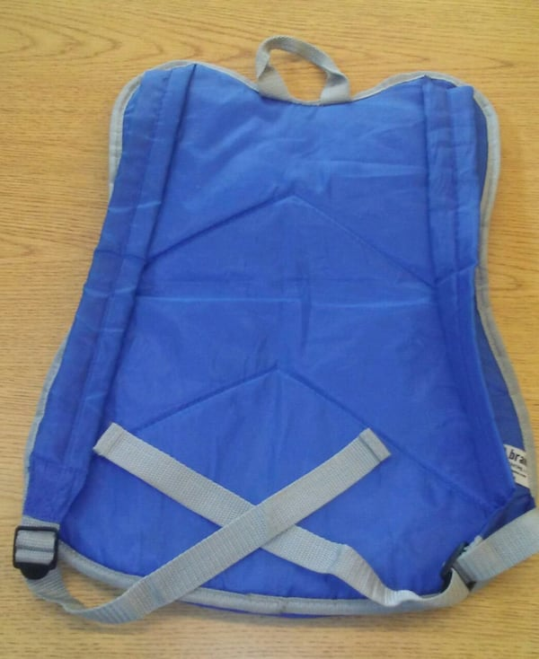 SGA KC Royals Catcher Chest Protector Backpack 1