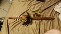 Hawaiian koa wood spear Wilsonville, 97070