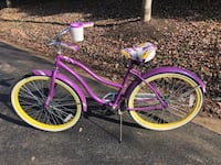 pink and white cruiser bike Germantown