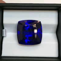 Nature blue sapphire with GIA Report  Washington