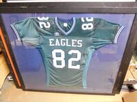 Mounted Philadelphia Eagles Jersey #82 Manassas, 20112