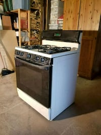 white and black gas range oven Annandale, 22003