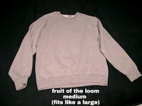 crew neck sweatshirt fruit of the loom London, N5V 3L6