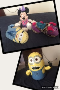 Minnie Mouse and Minions plush toy