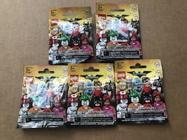 lego batman 5 bags unopened