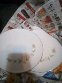 2 plates / China ware  Wadsworth, 44281