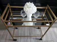 Bar Cart with wheels, mirror Las Vegas, 89121