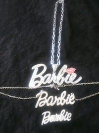 Barbie Necklaces and Ring