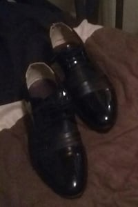 pair of black leather dress shoes Newport News, 23607