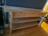 IKEA 3 drawer console table