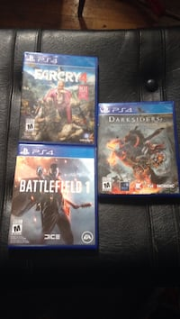PS4 games Kitchener, N2A 1S8