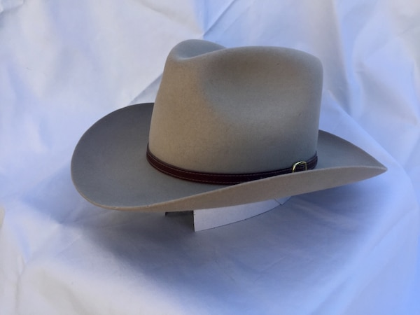 7fe74840bf4e5 Used John B Stetson 4x Beaver Western Fedora size6 7 8 for sale in Fremont