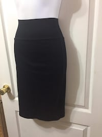 AMERICAN APPAREL Black Pencil Skirt: New with tags