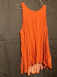 Old Navy XL Sleeveless Blouse in Orange Mobile, 36619
