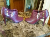 Maroon Zip Up Booties Nashville, 37214