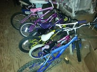 toddler's two blue and pink bicycles Chester, 03036