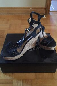 Black platform sandals Vaughan, L4L 7L2