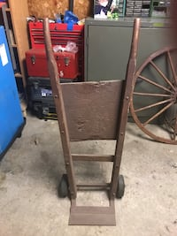 Old fashion dolly and wagon wheels best offer takes them  Mississauga, L4T 3L9