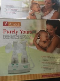 Purely yours by ameda double breast pump