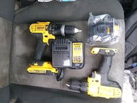 DeWalt drills batteries and charger must buy all Edmonton, T5A 3R8