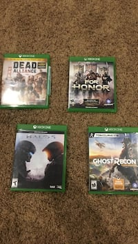 three Xbox One game cases Sublimity, 97385
