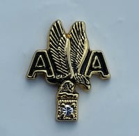 Airline Service Pin, American Airlines  Hialeah, 33015