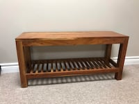 Bench and shoe rack Keswick, L4P 3T9