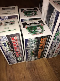 Hess Trucks.  Assorted years. Select a year and make an offer. Nutley, 07110