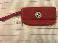 (Red) brand-new authentic kate spade chrystie street wristlet