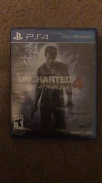 Sony ps4 uncharted 4 game Canyon Lake, 92587