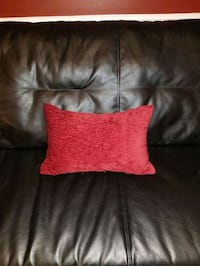 Red rectangle pillow