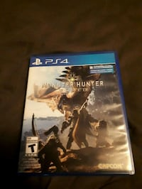 Monster hunter world ps4  554 km