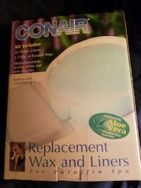Conair Paraffin Wax and Liners. Never opened Warren, 48088