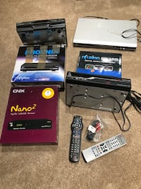 Satellite receivers + DVD player + cable box 515 km
