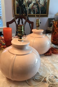 Vintage pair of lamps by Anthony's made in Canada