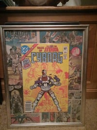 Tales of the new teen titans starring Cyborg #1 comic book picture Edmonton, T5P 1T6