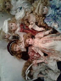 Porcelain dolls. All perfect condition.  Johnston, 02919
