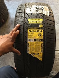 Dunlop Sp5000 DSST 245/40R18  New York, 10470